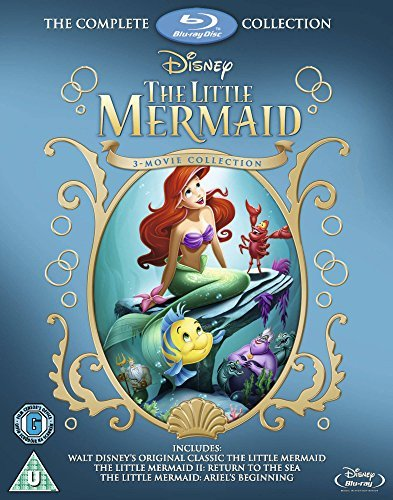 The Little Mermaid Collection / Little Mermaid / Return to the Sea /Ariel's Beginning Blu Ray by Imports