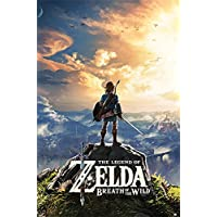 Maxi Poster The Legend Of Zelda Breath Of The Wild Sunset