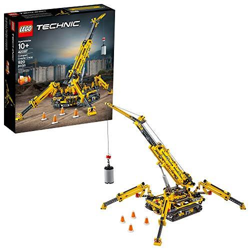 LEGO Technic Compact Crawler Crane 42097 Building Kit, New 2019 (920 Pieces)