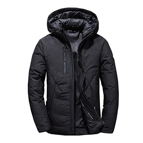 Giacca Tempo Verso Basso Nero Libero All'aperto breve Xxl Moda Per Caldo Inverno Di Di Il Il Hhy Gli Uomini Sport Tq1z6wqPU