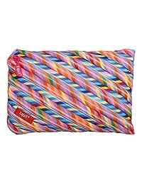 Zipit ZTJ-CZ-Stri Colorz Jumbo Pouch, Stripes