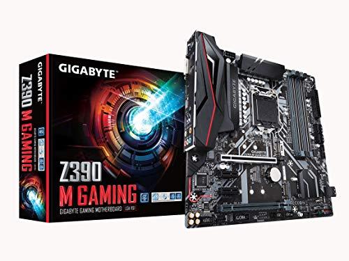 Gigabyte Z390 M Gaming (Intel LGA1151/Z390/Micro ATX/M.2/Realtek ALC892/Intel GbE LAN/HDMI/Gaming - Audio Lan Gbe