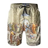 Church Mens Board Pants Quick Dry Bottom Best Printed Short Medium Length For Young Man