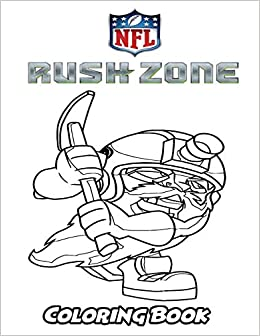 Amazon.com: NFL Rush Zone Coloring Book: Coloring Book for Kids and ...