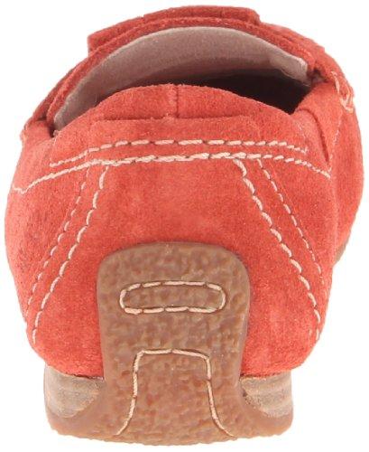Timberland Womens Caska Kiltie Mocassin Red uXf0S385
