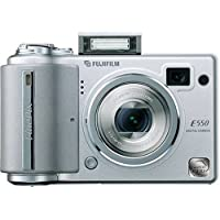 Fujifilm Finepix E550 6.3MP Digital Camera with 4x Optical Zoom Basic Intro Review Image