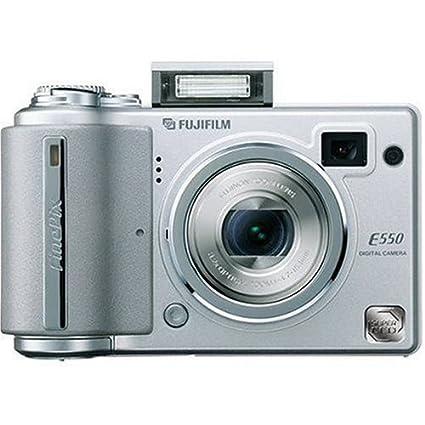 amazon com fujifilm finepix e550 6 3mp digital camera with 4x rh amazon com FinePix E510 FinePix S2 Pro