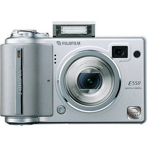 Fujifilm Finepix E550 6.3MP Digital Camera with 4x Optical Zoom (Fujifilm Mb 16 Card Picture Xd)