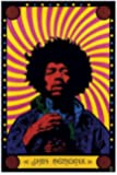 Empire 213044 Jimmy Hendrix - Psychedelic, Musik Poster ca. 91,5 x 61 cm