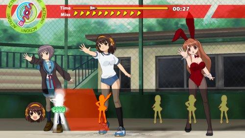 Amazoncom Suzumiya Haruhi No Gekidou Japan Import Video Games