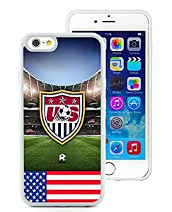 Hot Sale iPhone 6 4.7 Inch TPU Case ,Popular And Unique Designed With USA Soccer 11 White iPhone 6 4.7 Inch TPU High Quality Cover