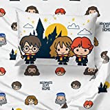 Harry Potter Hogwarts is My Home 3 Piece Twin Sheet
