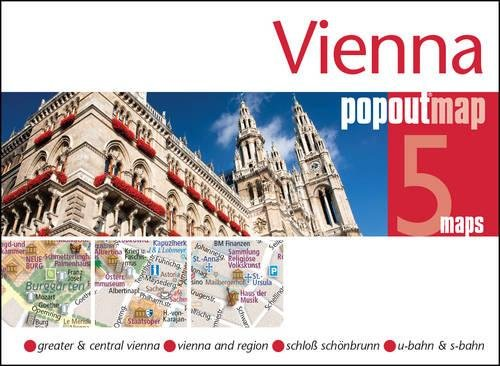 Vienna PopOut Map: Handy, pocket-size, pop-up map for Vienna (PopOut Maps)