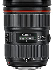 Canon EF 24-70 mm zoomlens met F2.8L II USM voor EOS (82 mm filterdraad), zwart