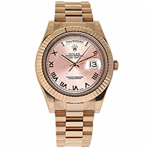 Rolex Day-Date II swiss-automatic mens Watch 218235 (Certified Pre-owned)