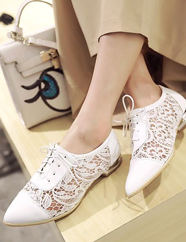 Bianco punta donna Uk10 us12 Casual da Nero Scarpe a largo Hug White Tacco tacco Njx Rosa Cn47 piatto 5 Eu45 Gum Outdoor Work 5 qnzSxptOw