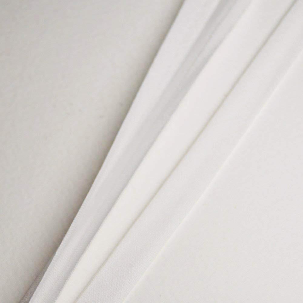 sehr gute Qualit/ät Wei/ß Baumwoll Schr/ägband Um 5 Meter