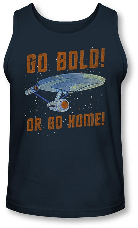 Star Trek - Mens Go Bold Tank-Top