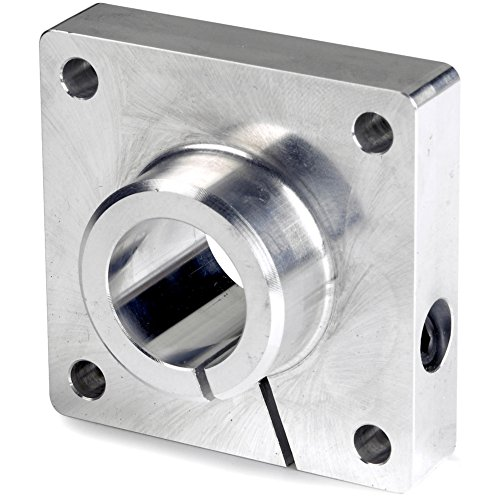 (Thomson FSB20, Flanged End Support, Aluminum; use with 1.25 in Diameter Shaft)