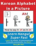 Korean Alphabets in a Picture: Learn Korean Alphabets (Hangul) Super Fast