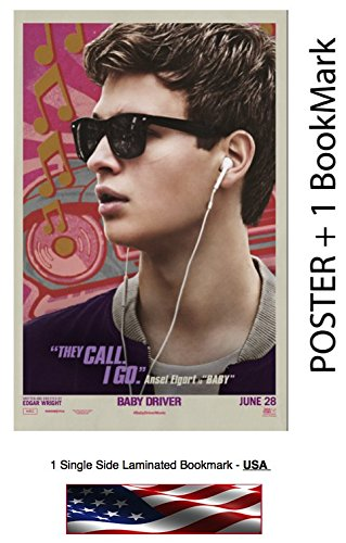 Baby Driver  2017    Movie Poster   Flyer   Promo   Size 11 X 17     Ansel Elgort  Lily James