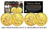 2018 Native American Sacagawea JIM THORP