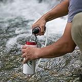 MSR TrailShot Pocket-Sized Water Filter for Hiking, Camping, Travel, and Emergency Preparedness