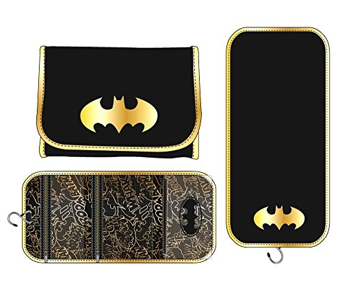 Bioworld Cosmetic Bag - Batman - Logo New Toys Licensed lb3cmabtm ()