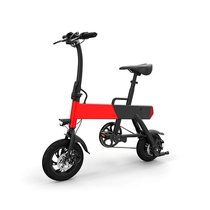 CHO Mini Electric Bike Portable Bicycle Performance Motor Bike Lithium Battery (P12)