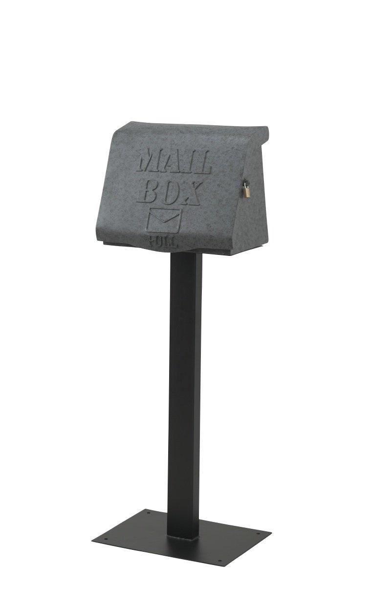 セトクラフト スタンドポスト(リッド)グレー高さ112㎝ SI-2881-GY   B075J9QF6S