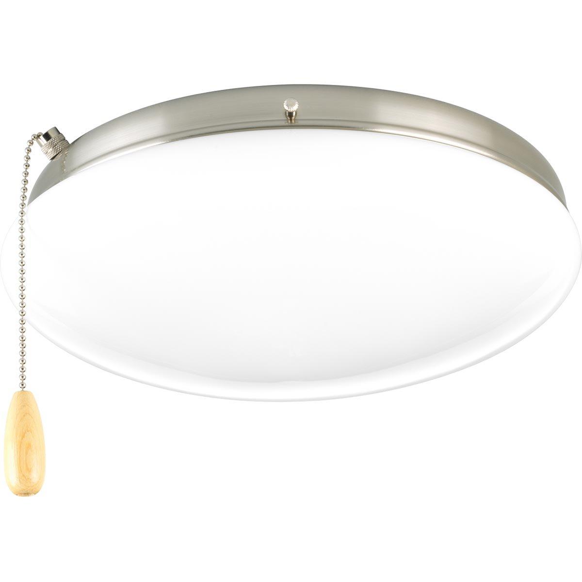 Progress Lighting P2602-09WB Fan Light Kit, Grey