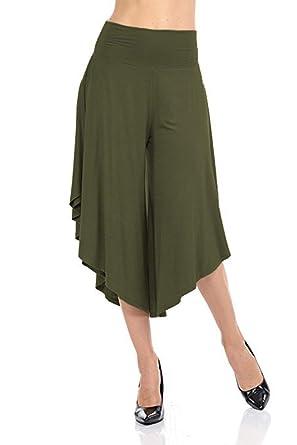 Falda Pantalon Mujer Pantalon Pantalones Aladdin Casual Verano ...