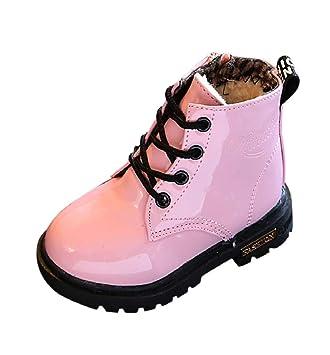 78fb88c026a9c Chaussures Bébé Binggong Chaussures Enfants Mode Martin Sneaker Bottes  Enfants Chaud Garçons Filles Bébé Occasionnel Chaussures