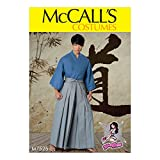 McCall Patterns M7525OSZ Kimono and Pleated Pants, S-M-L-XL-XXL