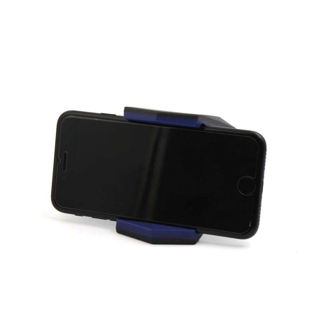 Edealmax Nero Blu Hippo Mouth Design A Doppia Clip Di 3 Electronics