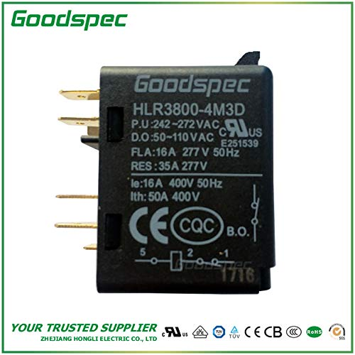 HLR3800-4M3D Potential Type Motor Starting Relay (Potential Relay Starting)