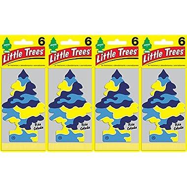 Little Trees Piña Colada Air Freshener, (Pack of 24)