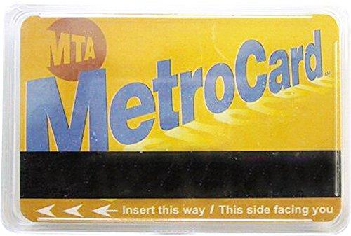 CityDreamShop Set of 52 Novelty New York Metro Card, Playing - New Metro York