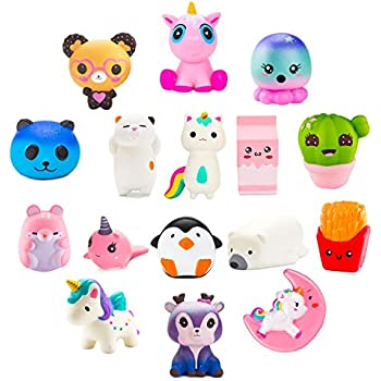 Squeeze Toys Toys & Hobbies 100% True Original Kawaii Cartoon Galaxy Deer Squishy Slow Rising Cream Scented Stress Reliever Toy Collection Cure Gifts 7.4
