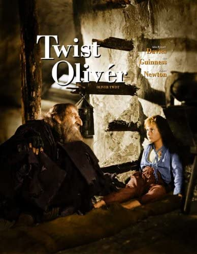 Oliver Twist Alec Guinness Robert Newton movie poster print 1948