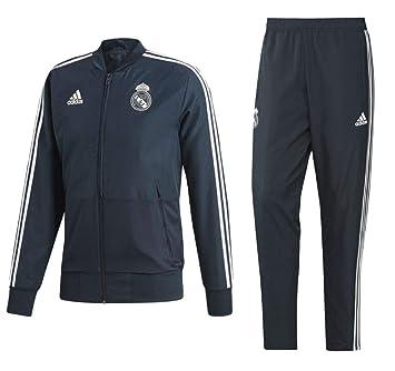 Adidas Fussball Real Madrid Cf Prasentationsanzug 2018 2019