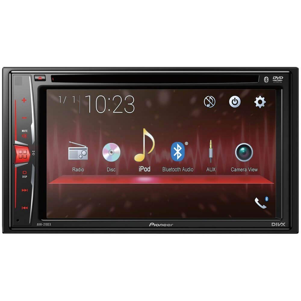 Amazon.com: Pioneer AVH-210EX in-Dash 2-DIN 6.2