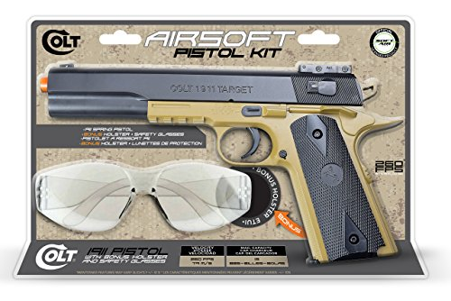 Colt-Soft-Air-1911-Spring-Airsoft-All-In-One-Pistol-Kit
