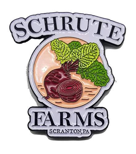 Schrute Farms Beets - Office - Enamel Lapel Pin