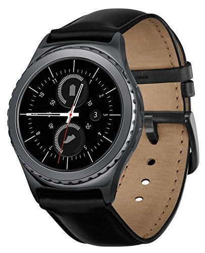 Samsung Gear S2 Classic Smartwatch w/ Rotating Bezel and Leather Strap - Black by Samsung (Image #1)