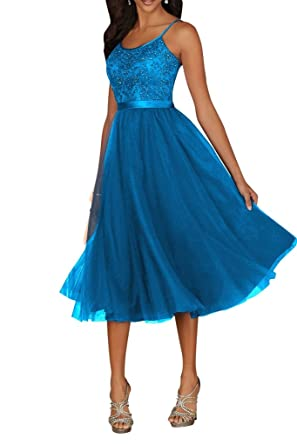 Kleid festlich kurz blau