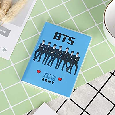 Teblacker BTS Notebook, Kpop Bangtan Boy Jungkook, Jimin, V, Suga, Jin, J-Hope, Rap Monster 64 Sheets Journal for Taking Notes and Drawing, Best Gift for The Army( BTS): Toys & Games