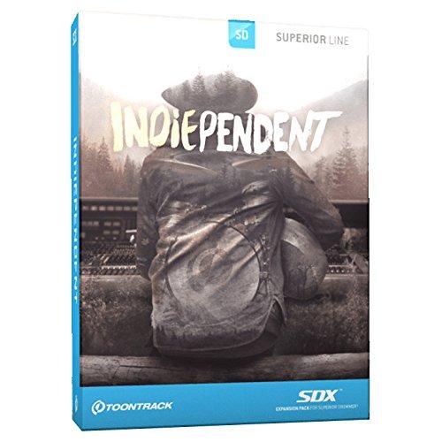 TOONTRACK SDX INDIEPENDENT/BOX プラグインソフト ドラム拡張音源 (トゥーントラック) 国内正規品B010X8MFO2