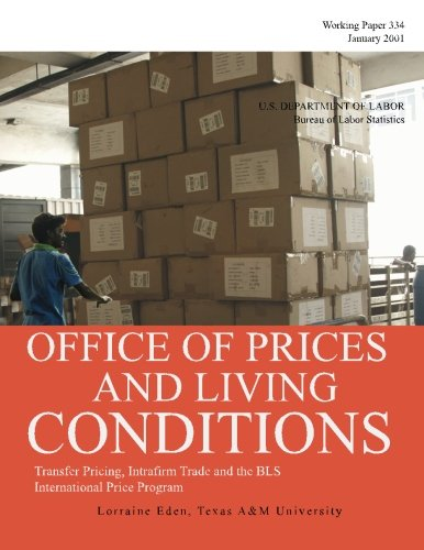 Read Online Transfer Pricing, Intrafirm Trade and the BLS International Price Program pdf