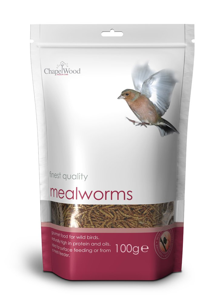 Chapelwood Mealworms 100g - CPW0461